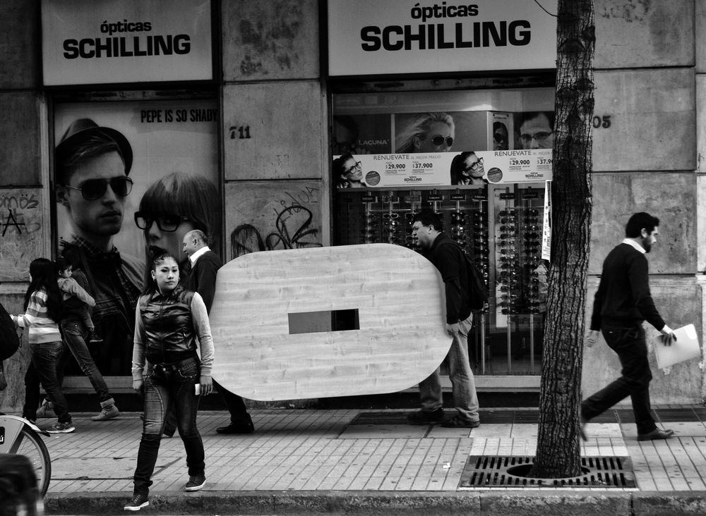 Photo in Street Photography #santiago #chile #street #city #urban
