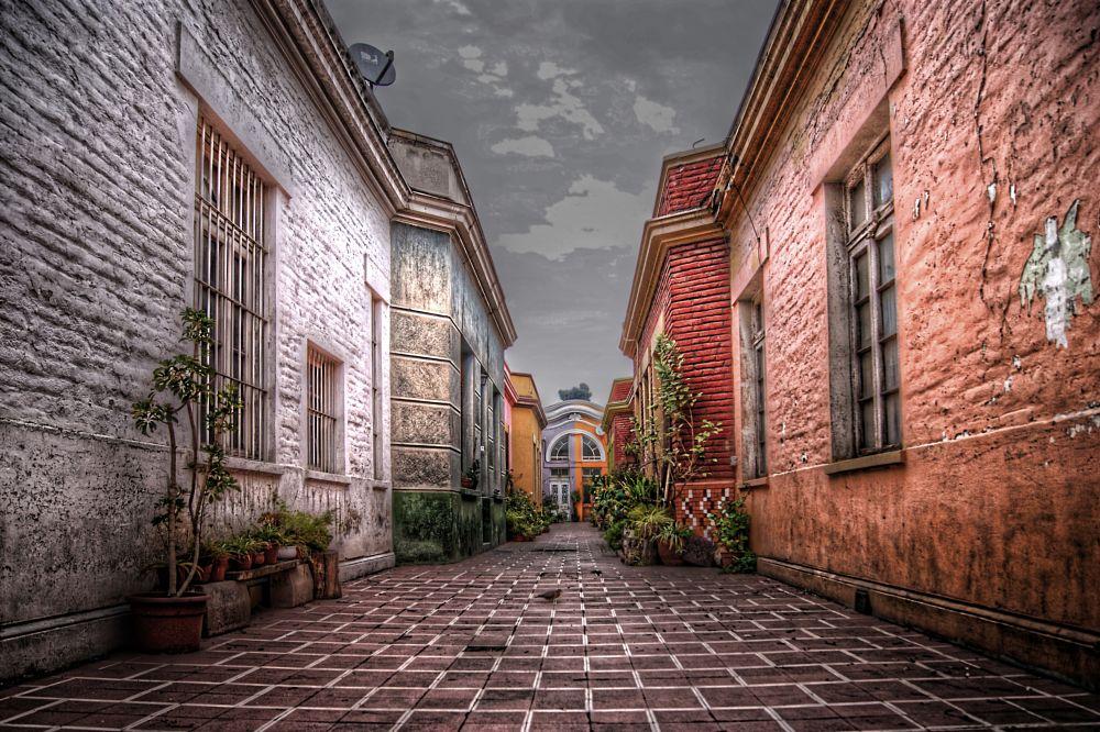 Photo in Street Photography #santiago #chile #street #city #urban #color #santiago de chile