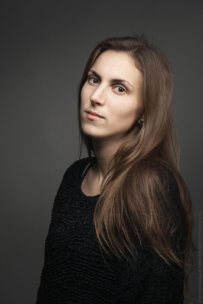 Photo in People #woman #portrait #natural #look #studio #eyes #mindaugas navickas #fotomindo.eu