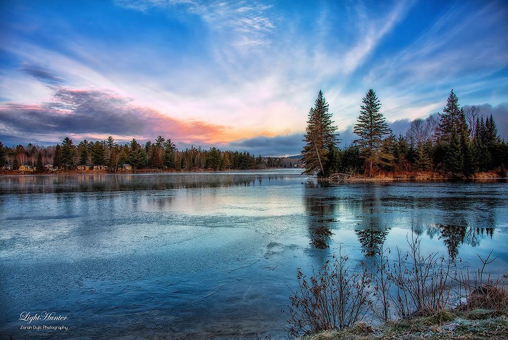 Photo in Random #sunset #lake #ontario #canada