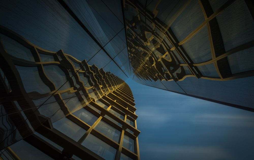 Photo in Architecture #liège #finances #ciel #up