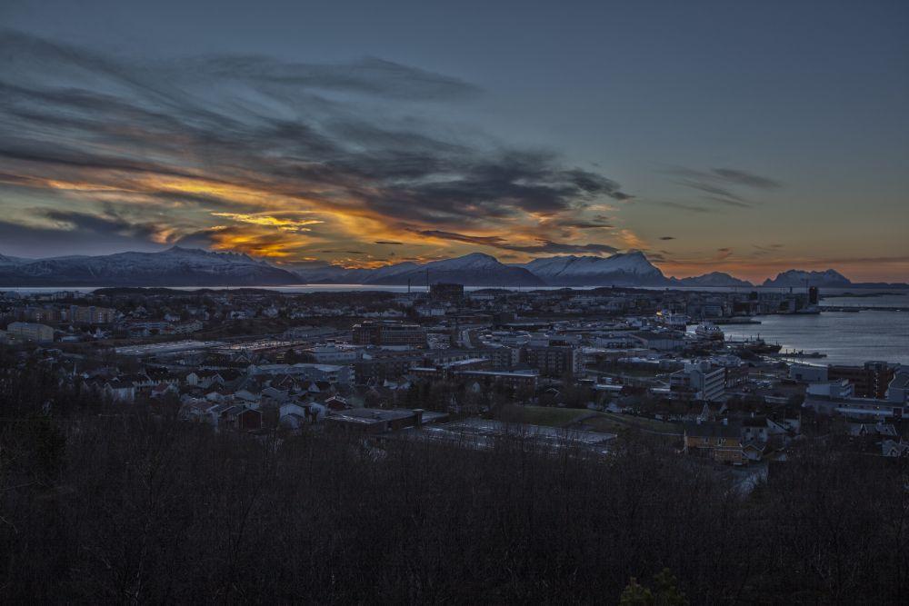 Photo in Landscape #foto wang #bodø #mørketid #the blue season #norway #odd rune wang