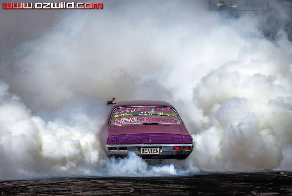 Photo in Random #smoke #skid #holden #gm #car