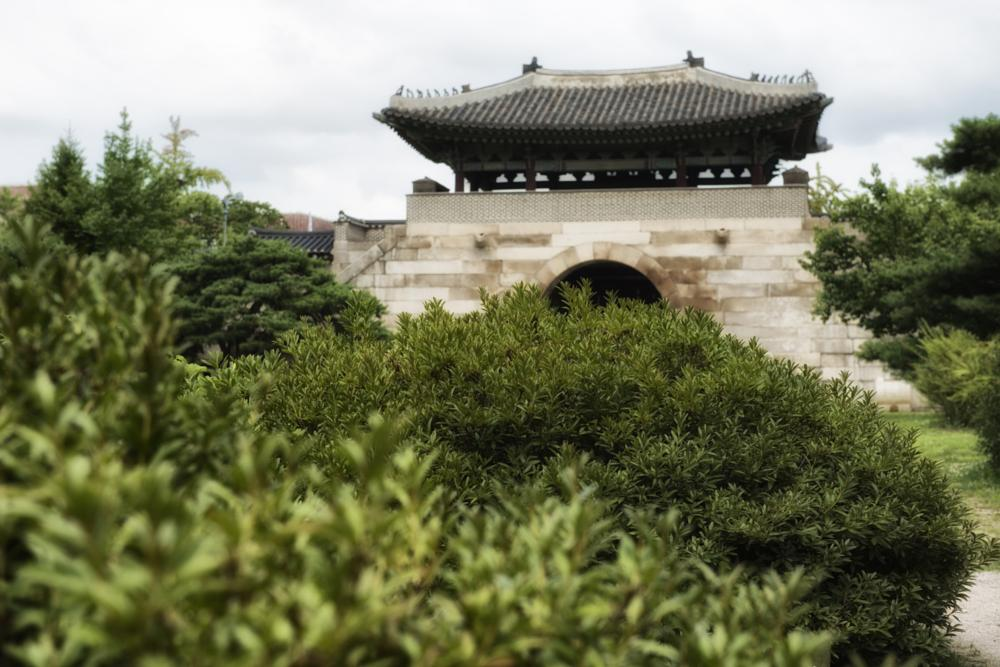Photo in Landscape #fortress #tower #wall #imperial #palace #korea