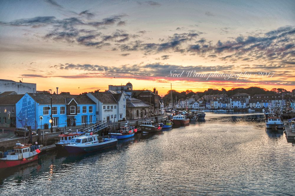 Photo in Landscape #harbour #water #sky #early #noperson #boats #buildings
