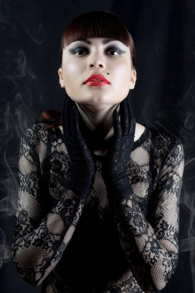 Photo in Fashion #people #girl #woman #dark #beauty