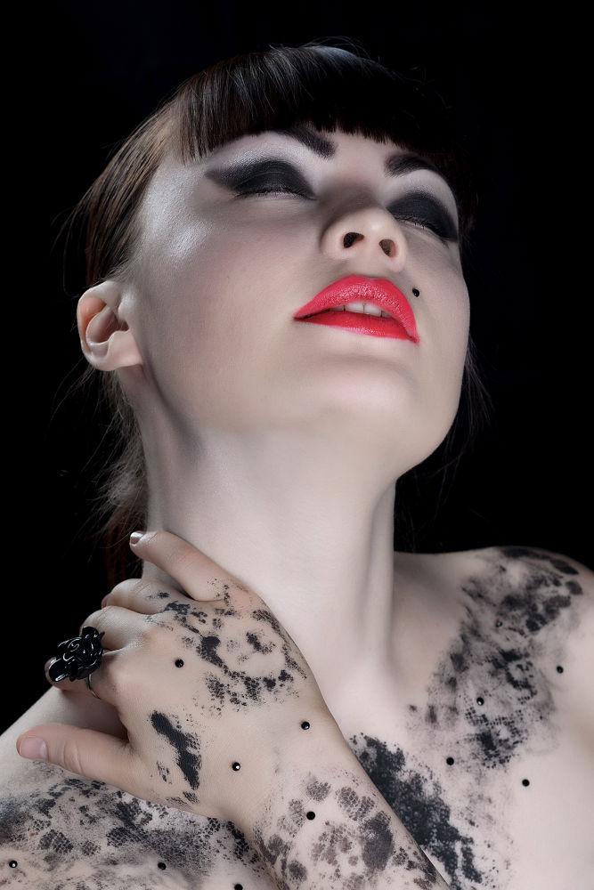 Photo in Fashion #beauty #fashion #girl #woman #dark