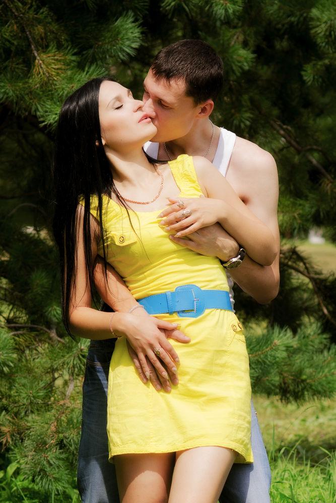 Photo in Random #people #couple #love #passion