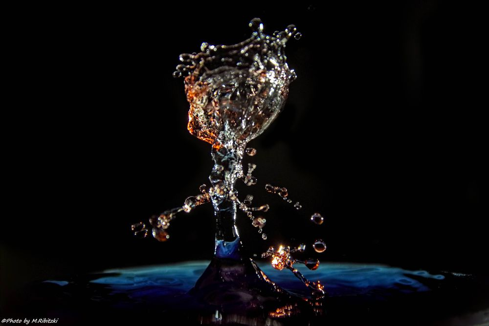 Photo in Fine Art #splash #water splash #miops splash #marius ribitzki #sony #tamron #bebra #close up #macro