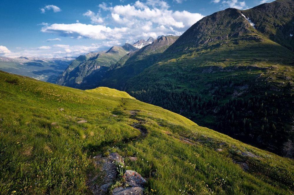 Photo in Landscape #alps #eastern alps #hohe tauern #national park #großglockner #austria #landscape #nature #view