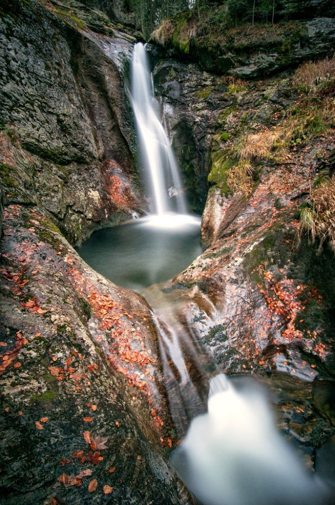 Photo in Nature #bavarian forest #waterfall #hochfall #nature #wide angle #long exposure