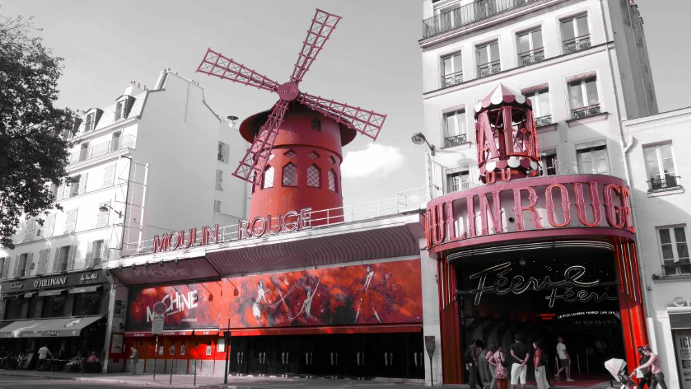 Photo in Architecture #paris #french #france #moulin rouge #pigalle #city #town #red