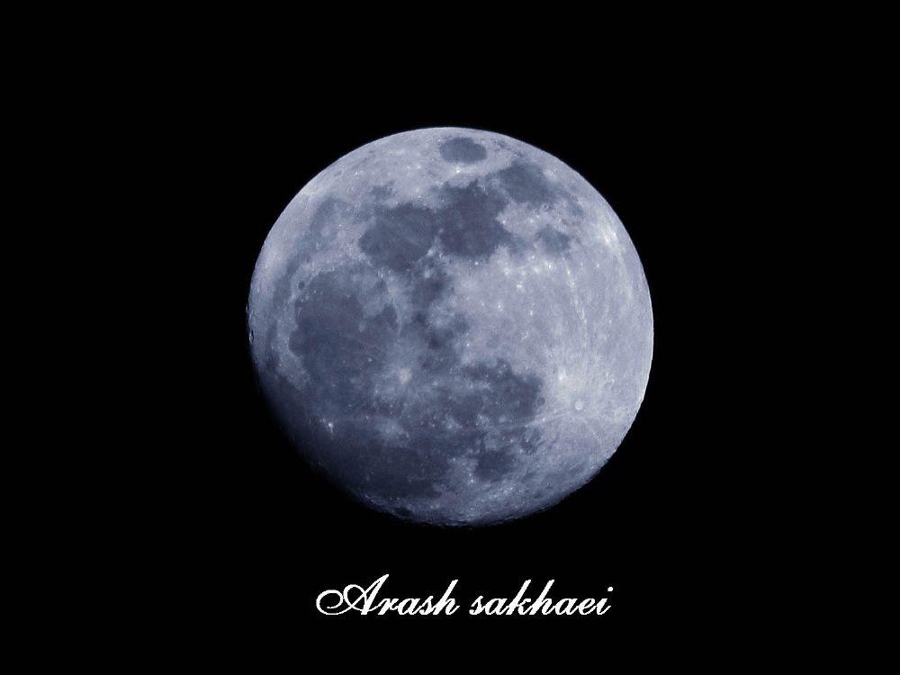 Photo in Nature #moon #night #ماه
