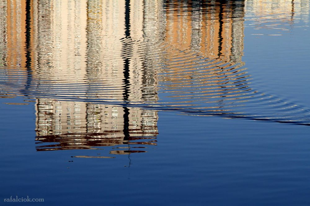 Photo in Abstract #city #warsaw #water #abstract