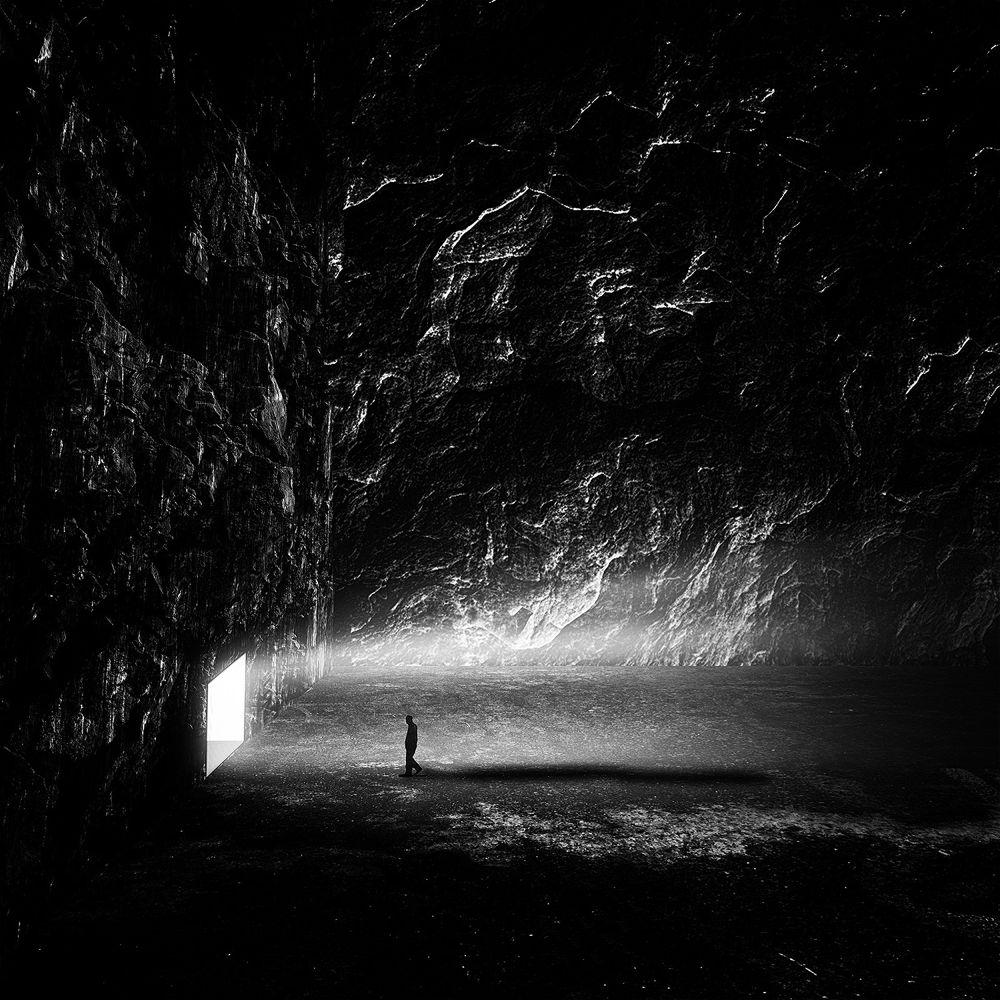 Photo in Fine Art #conceptual fine art black and