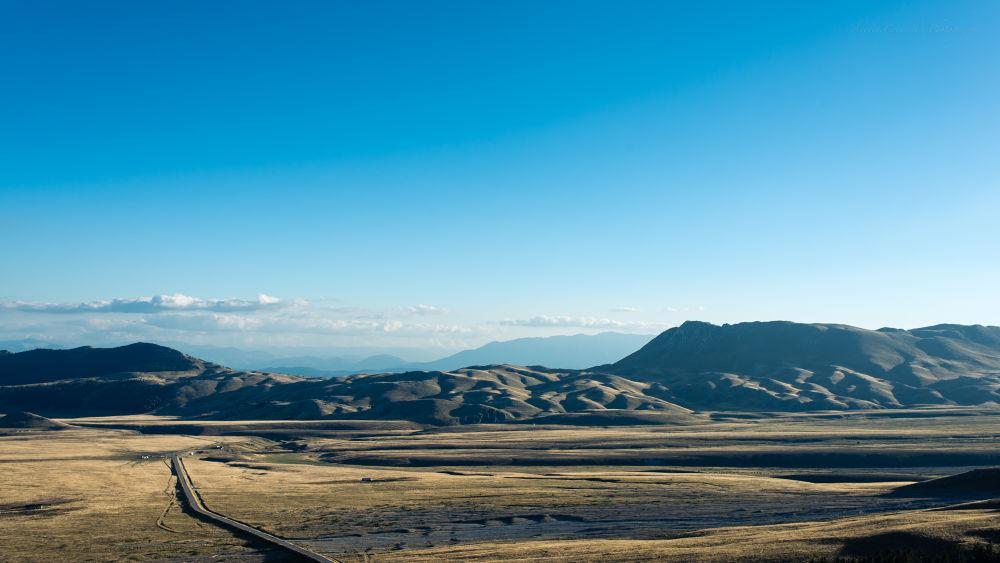 Photo in Landscape #d800e #35mm #landscapes #apennines #gran sasso