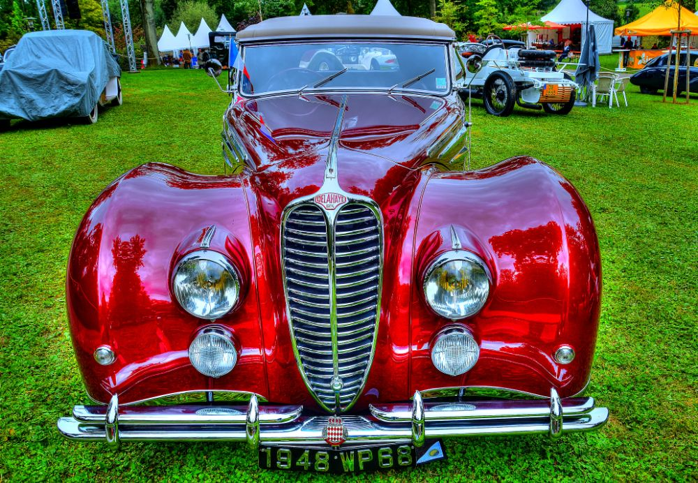 Photo in Vehicle #cars #red cars #vintage