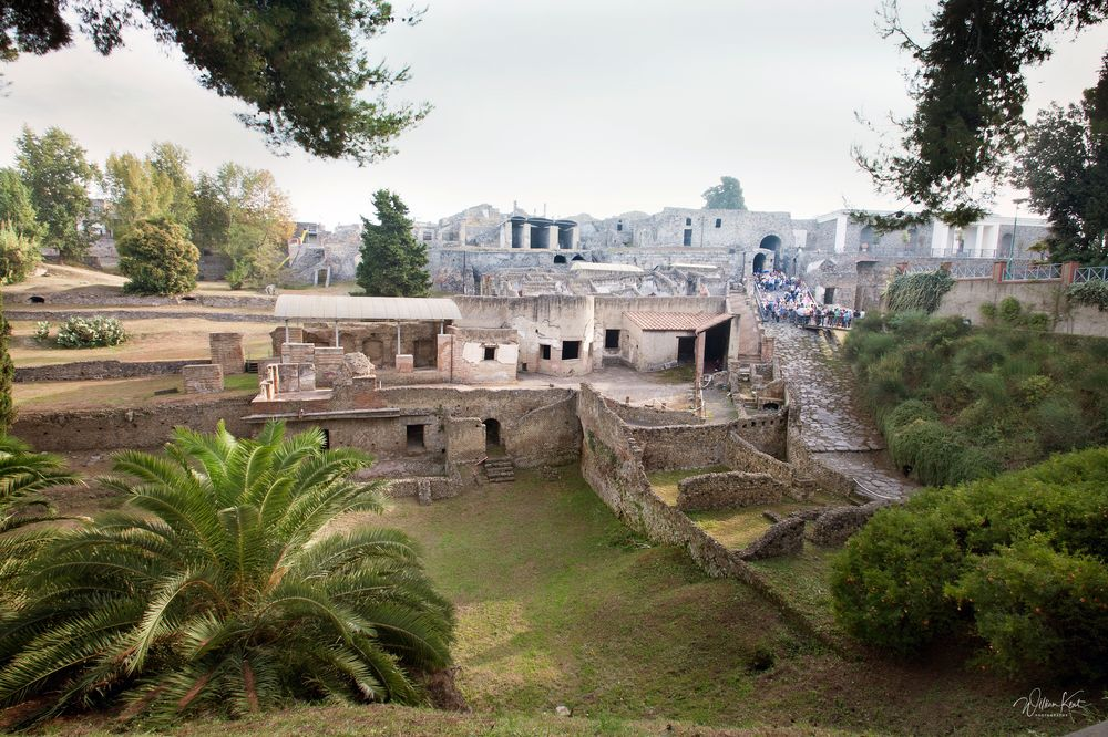 Photo in Architecture #pompei italy tuscany ruins vol