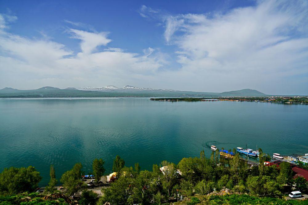 Photo in Landscape #lake sewan #ararat #siggi wagner