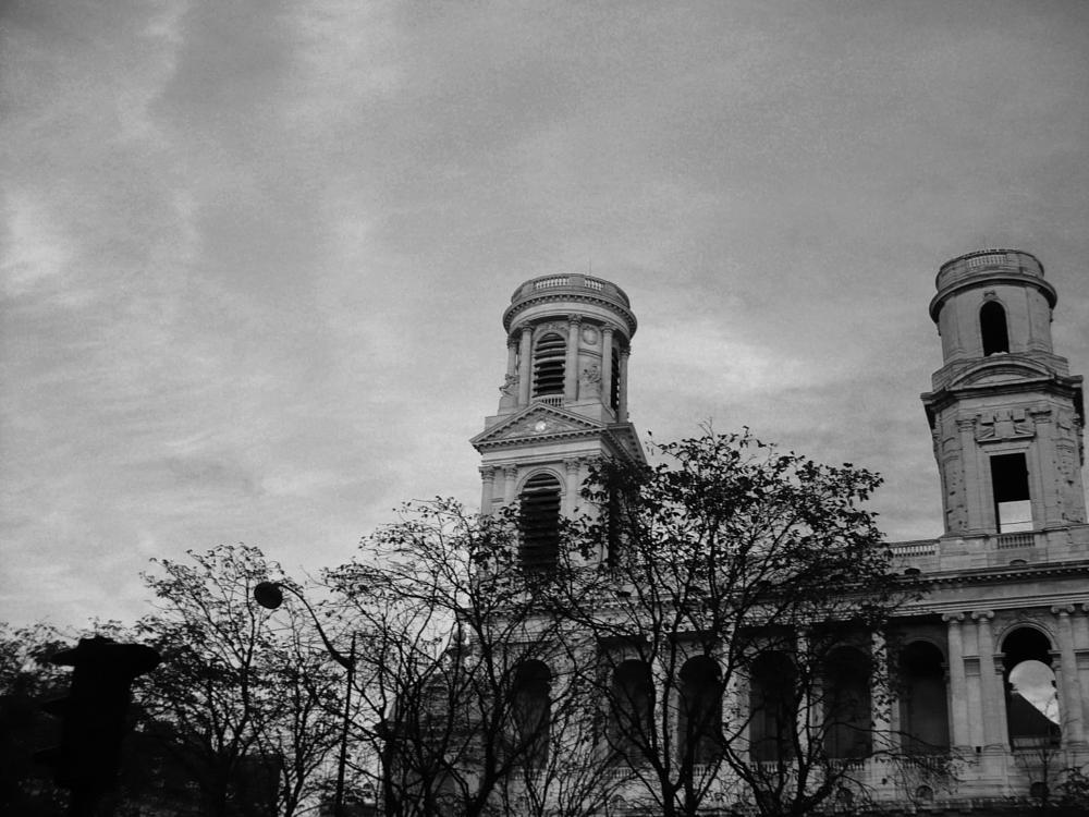 Photo in Black and White #church #paris #black&white