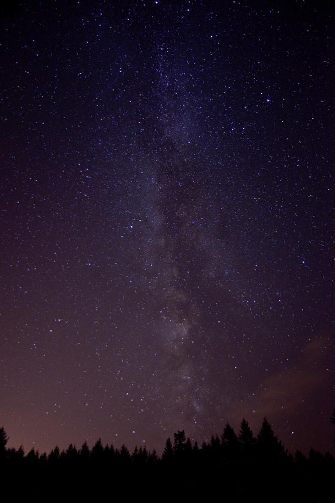 Photo in Astrophotography #milky way #light polution #stars #nightsky