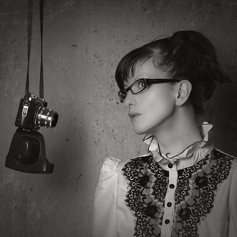 Photo in Portrait #self #black and white