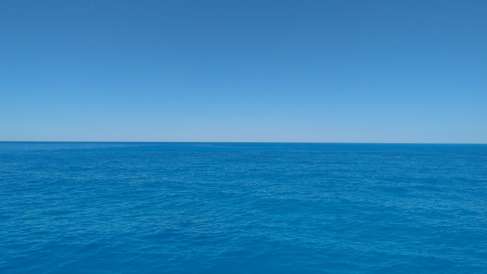 Photo in Random #sea #landscape #skies #sailing #nature #blue #relax #abstract