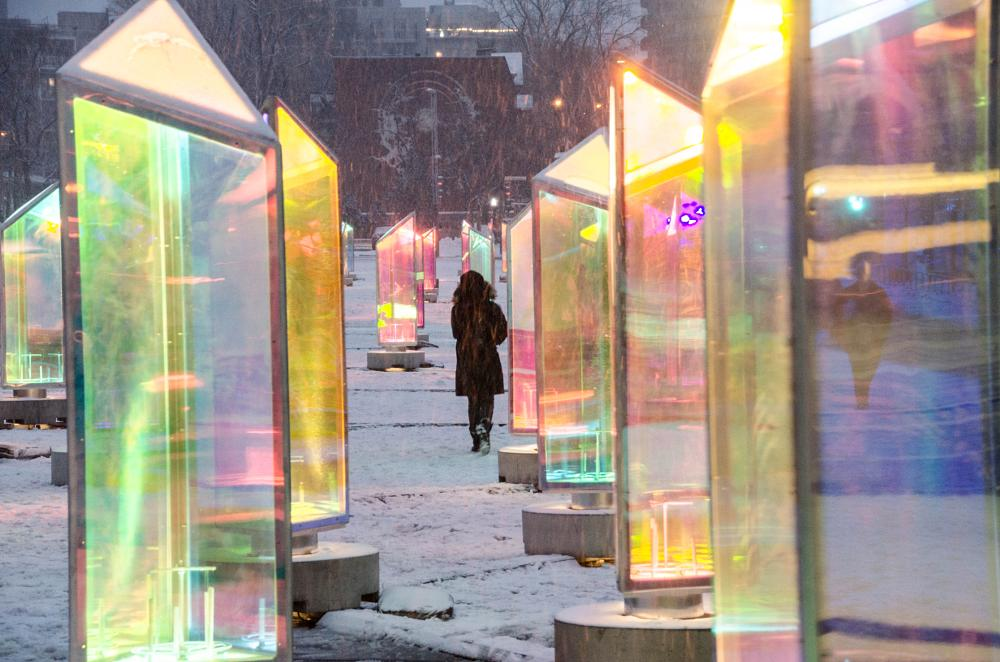 Photo in Street Photography #snow #winter #mtl #colors