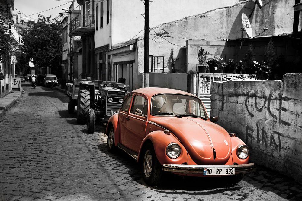 Photo in Street Photography #volkswagen #beattle #vosvos #old car