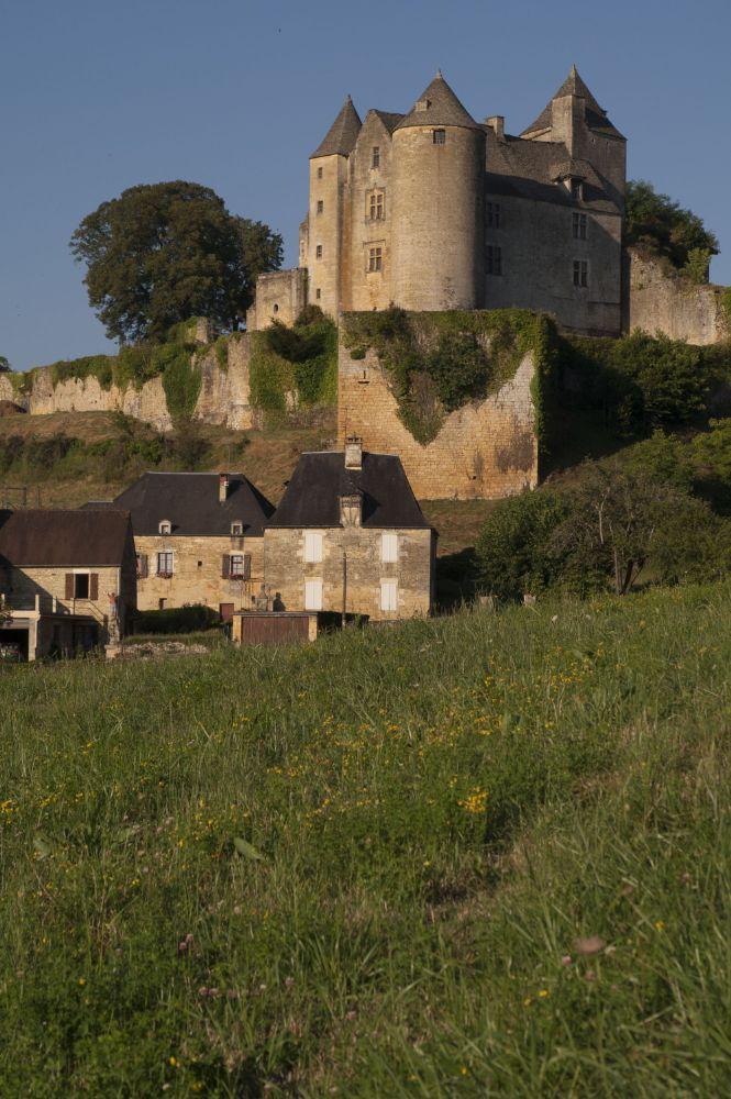 Photo in Landscape #salignac #castle #village #perigord #dordogne #france
