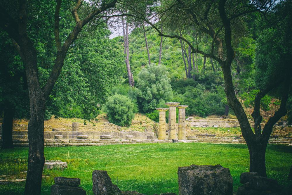 Photo in Landscape #visitcontest #tourism #greece #greek #ancient greece #trees #green #paradise #culture