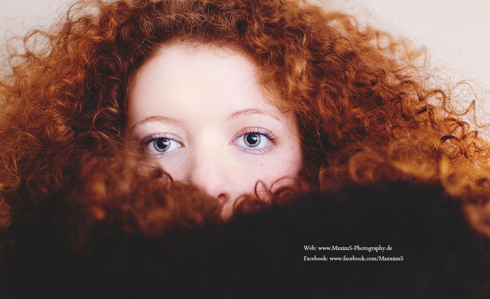 Photo in Portrait #red #head #woman #girl #beautiful #portrait #eyes #hair #canon #ratingen #deutschland #germany #eos #50 #mm #1.2 #l #face #frau