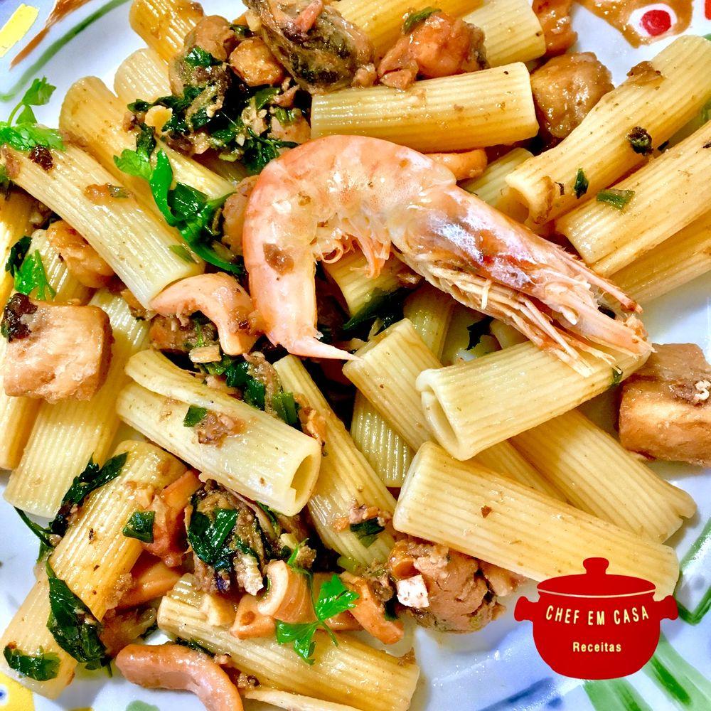 Photo in Food #rigatoni #italian food #sea food