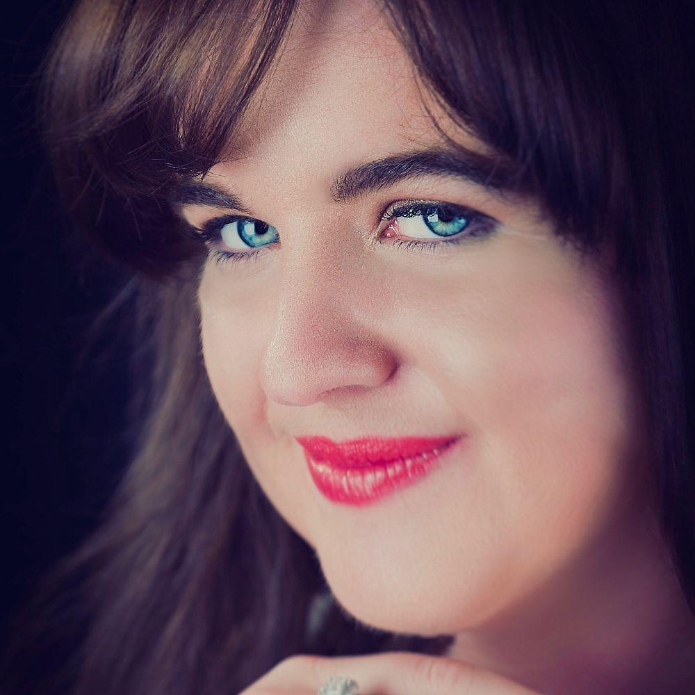 Photo in Portrait #female #face #eyes #lips #woman