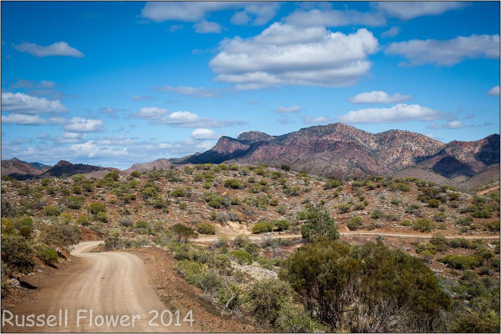 Photo in Landscape #blinman #country sa #flinders ranges #flinders trip #glass gorge road #road