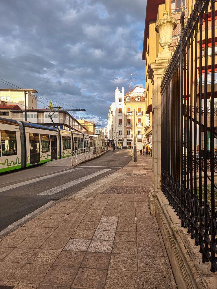 Photo in Cityscape #ciudades #paisajes urbanos #tormentas #vitoria #españa #spain