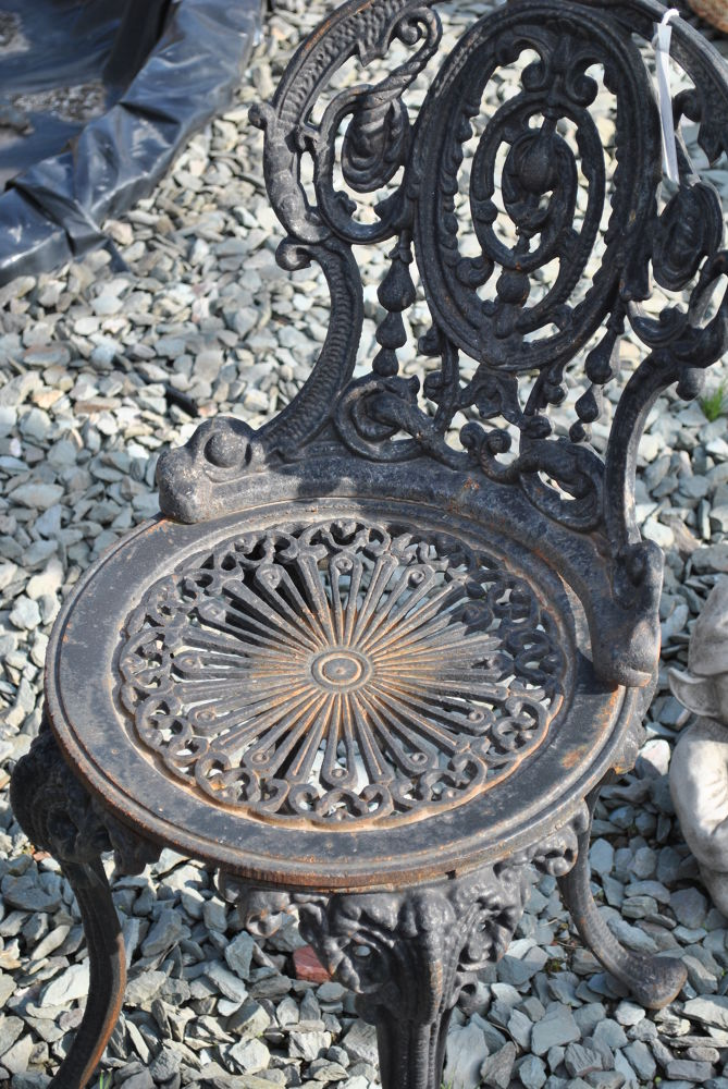 Photo in Street Photography #circles #chair #street #rusty