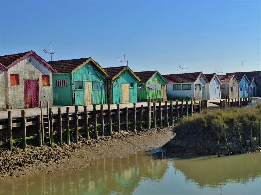 Photo in Landscape #bleu #cabanes de pêcheurs #couleurs