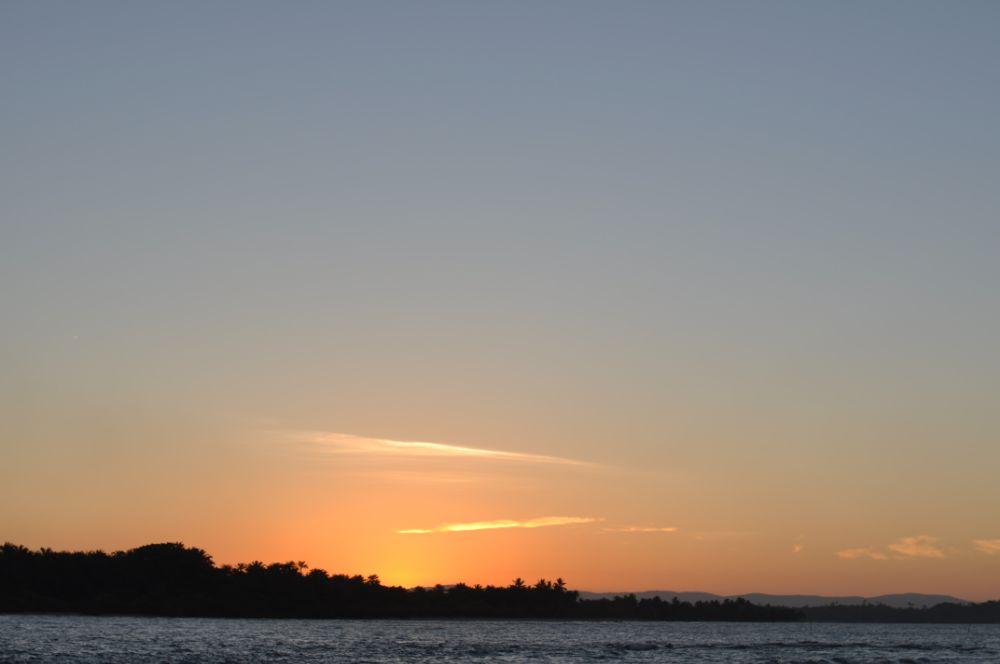 Photo in Landscape #river #sunset #beach #orange #peace