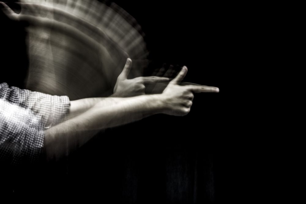Photo in Abstract #hands #weapon #arm
