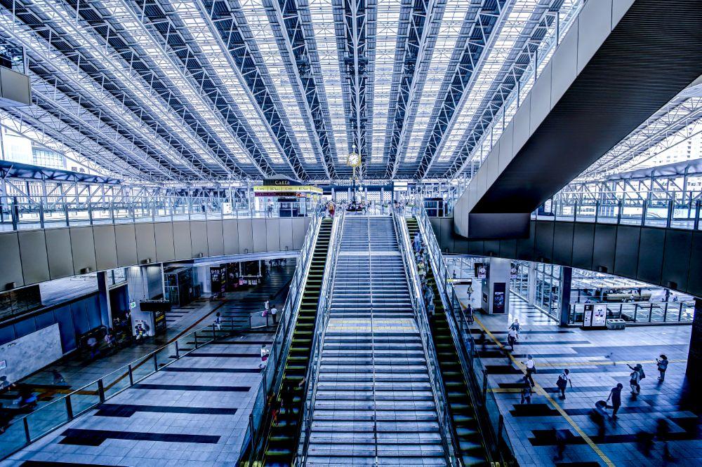 Photo in Random #japan #osaka #architecture #hdr #station #大阪 #canon #6d