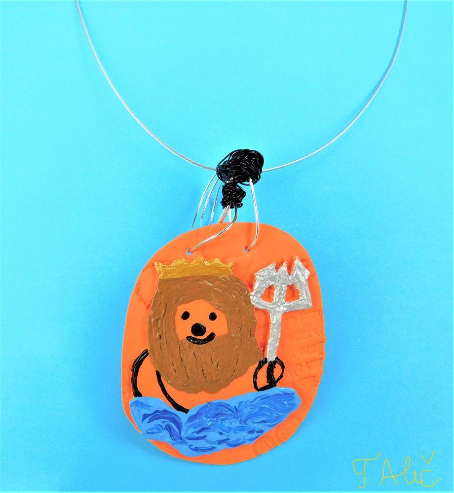 Photo in Astrophotography #astrology #zodiac #aquarius #necklace handmade jewelry p