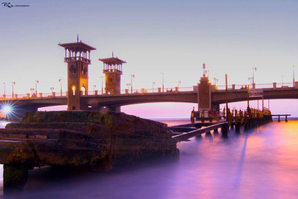 Photo in Architecture #long #shutter #exposure #longshutter #longexposure #sea #egypt #view #landscape #photography