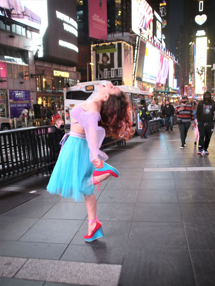 Photo in Random #nyc #manhattan #time square #night