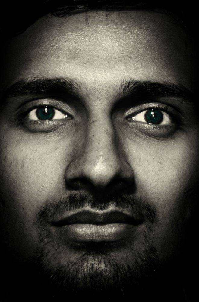 Photo in Portrait #look #inquisitive #curious #interested #face #eyes #blue #portrait #glaze #lowkey