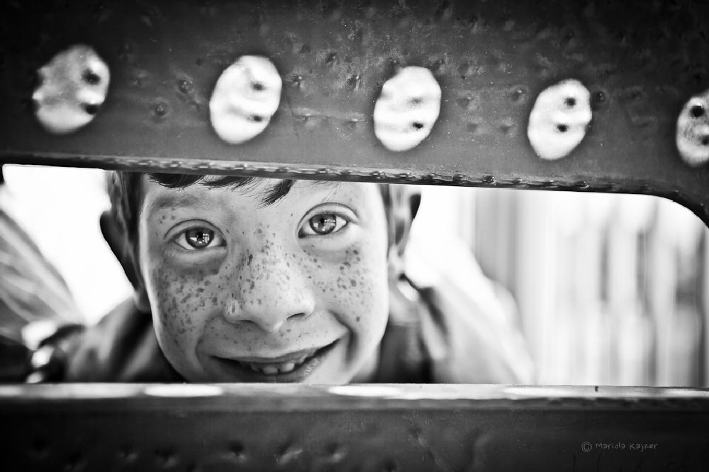 Photo in People #boy #child #poeple #portrait #b&w