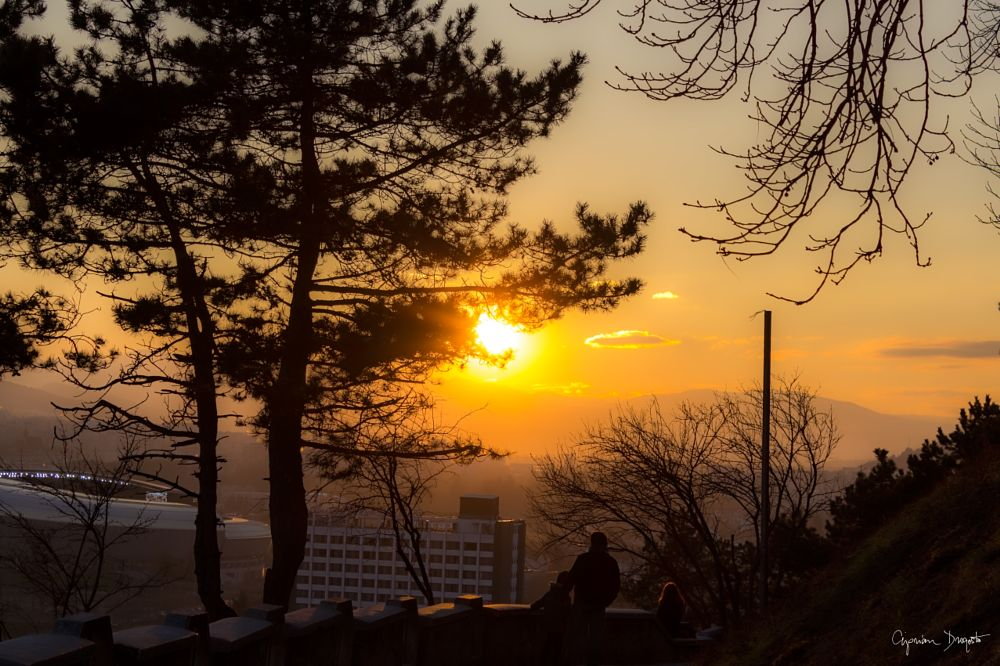 Photo in Urban #sunset #city #urban