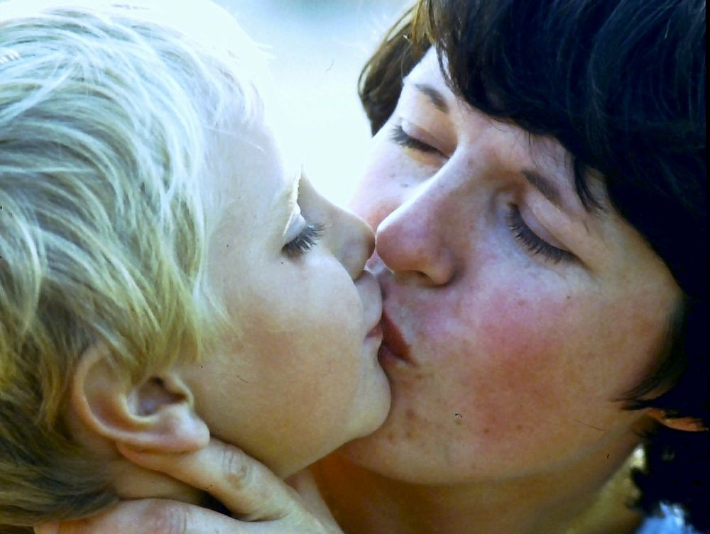 Photo in Family #kiss #mother