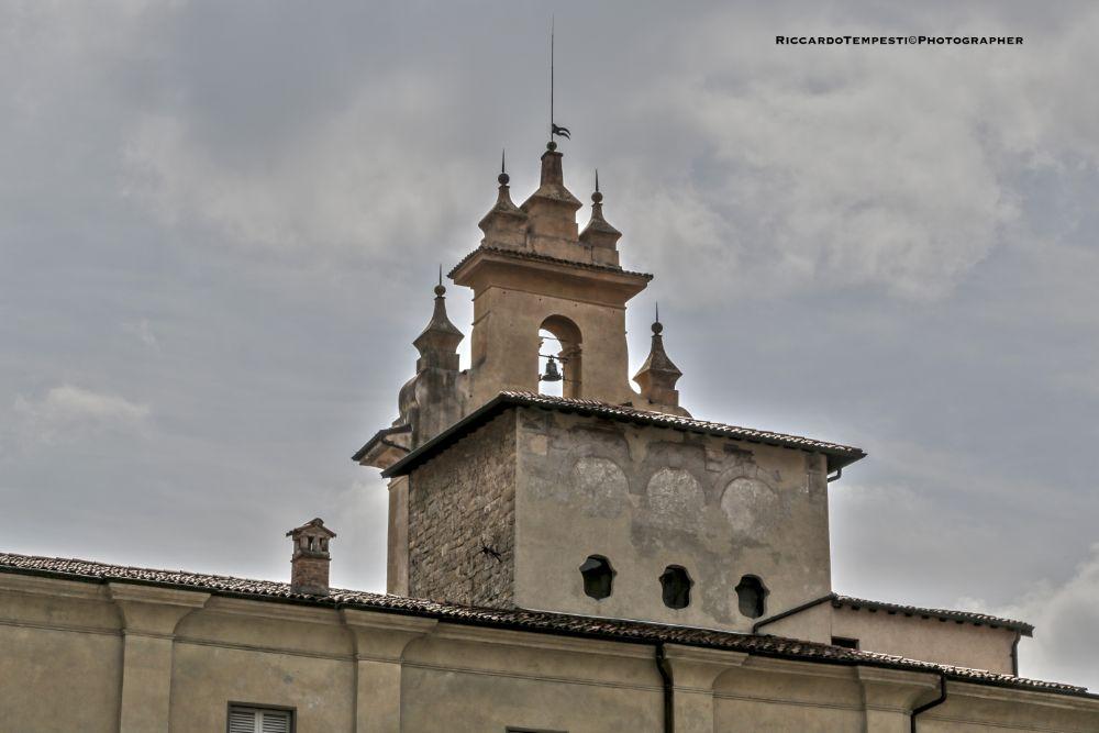 Photo in Cityscape #bergamo #la cittàalta #campane #chiesa