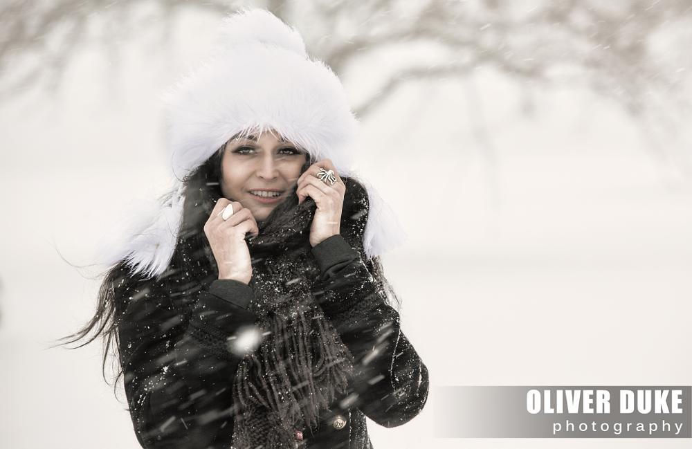 Photo in Portrait #snow #portrait #storm
